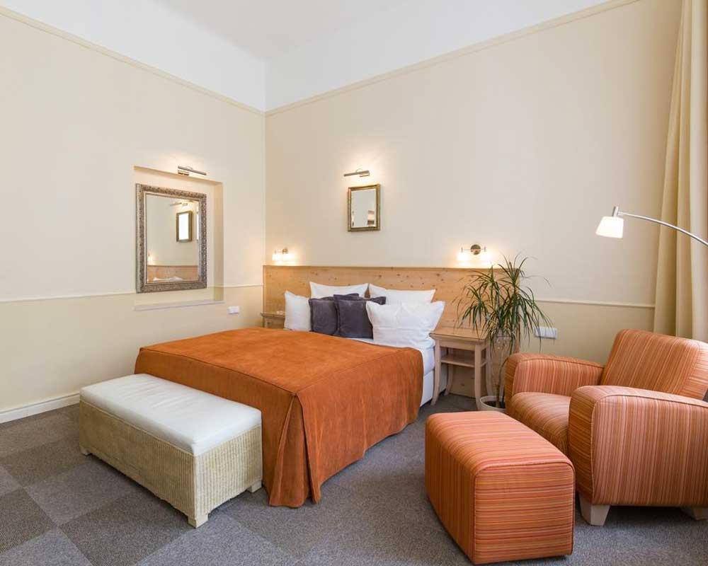 Room @ Unitas Hotel in Prague