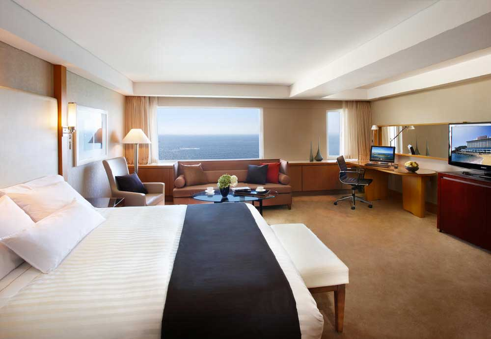 Room @ The Westin Chosun Busan in Busan, South Korea