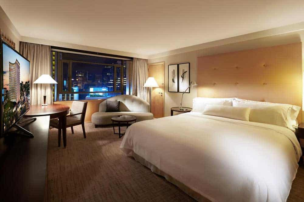 Room @ The Westin Chosun Hotel Seoul