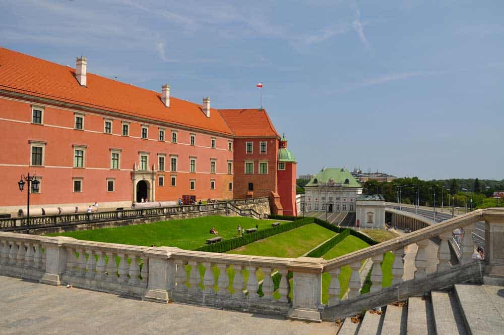 Royal Castle in Warsaw, Poland