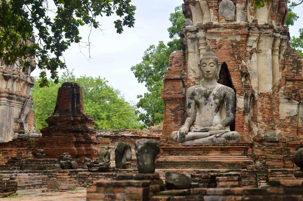 Ruins in Ayutthaya, Thailand
