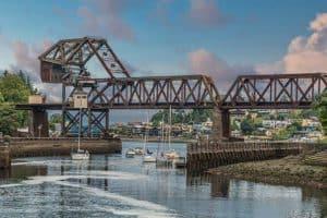 Salmon Bay Bridge in Ballard