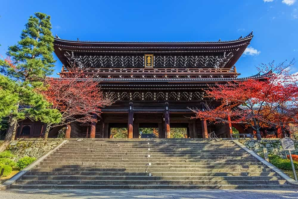 Sanmon Gate at Chion-in Temple