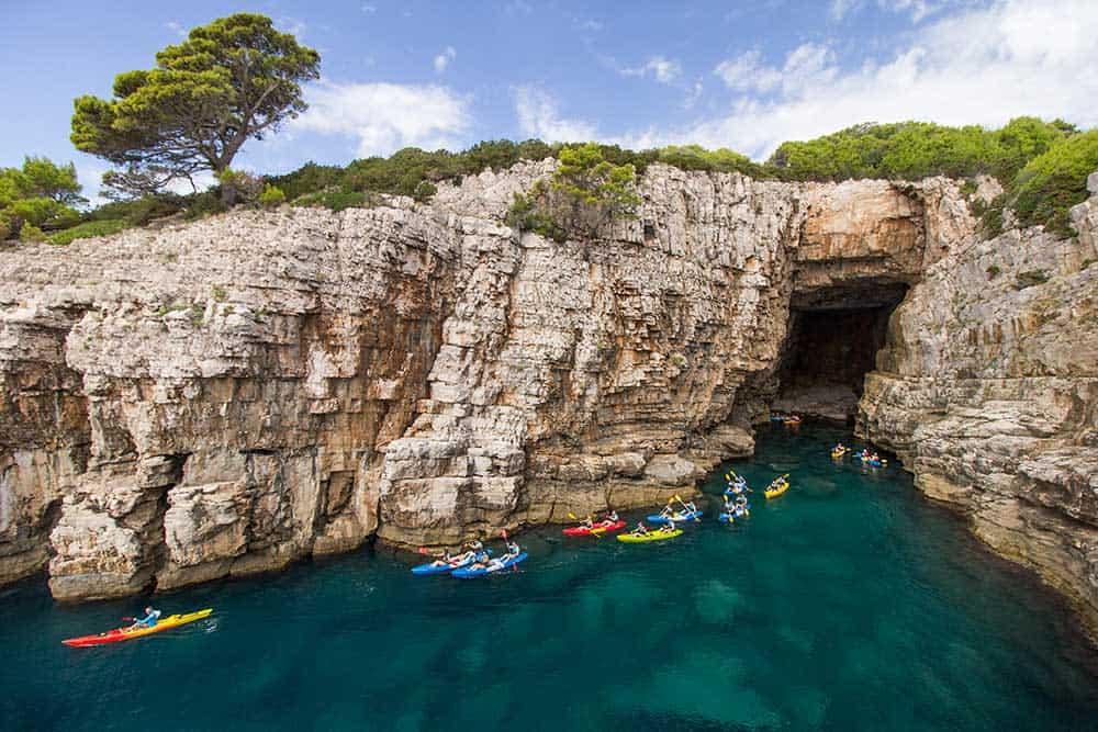 Sea Cave at Lokrum Island