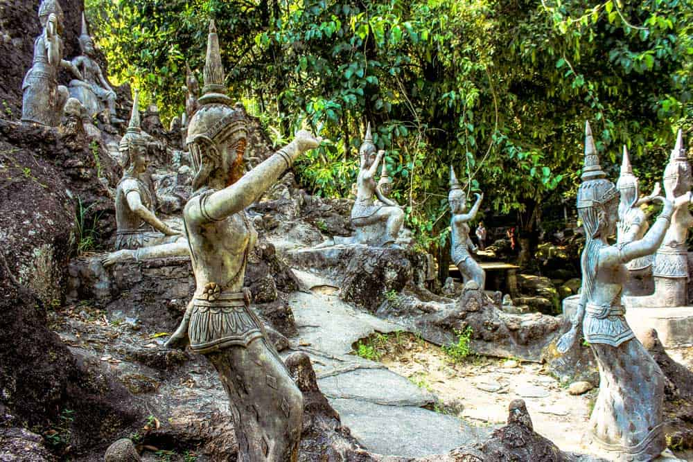 Secret Buddha Garden in Koh Samui