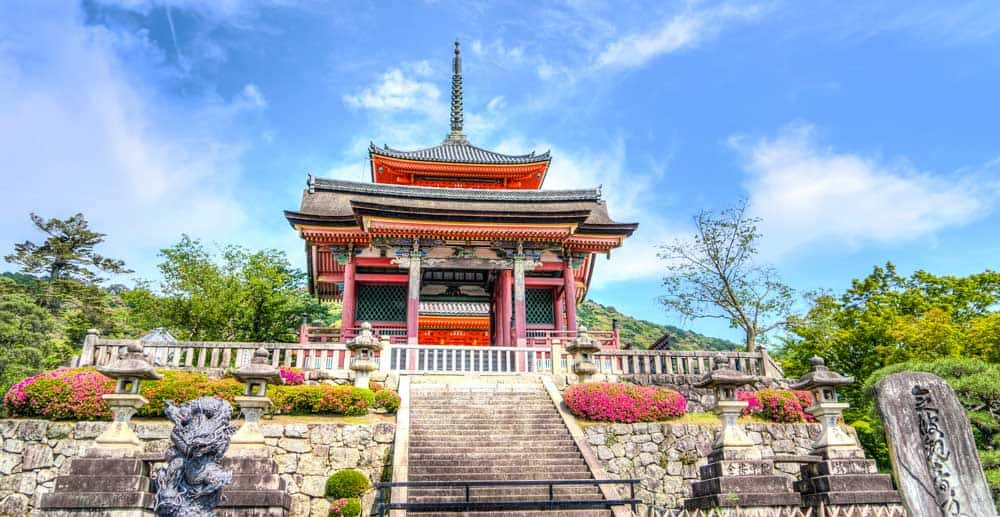 Senso-ji in Kyoto, Japan