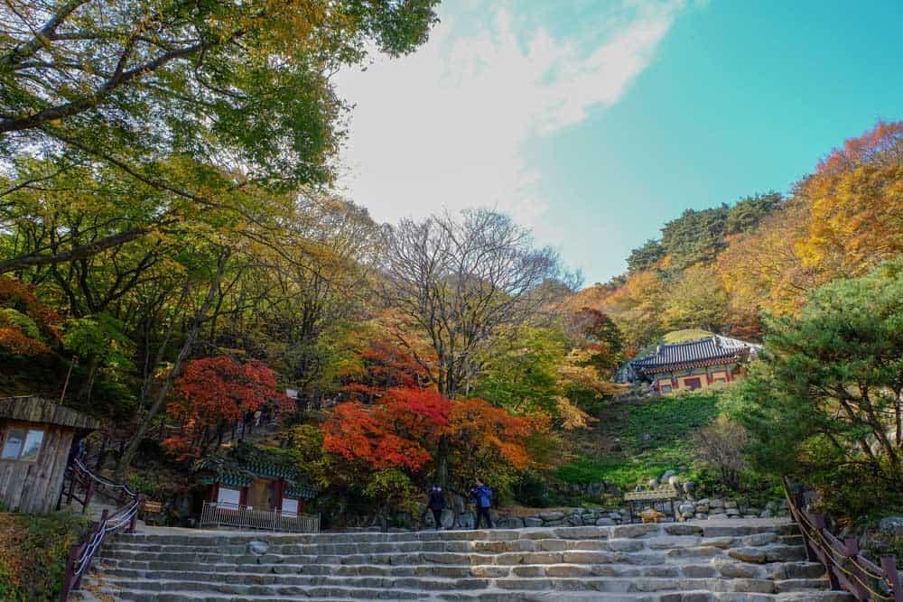 Seokguram Grotto in Gyeongju
