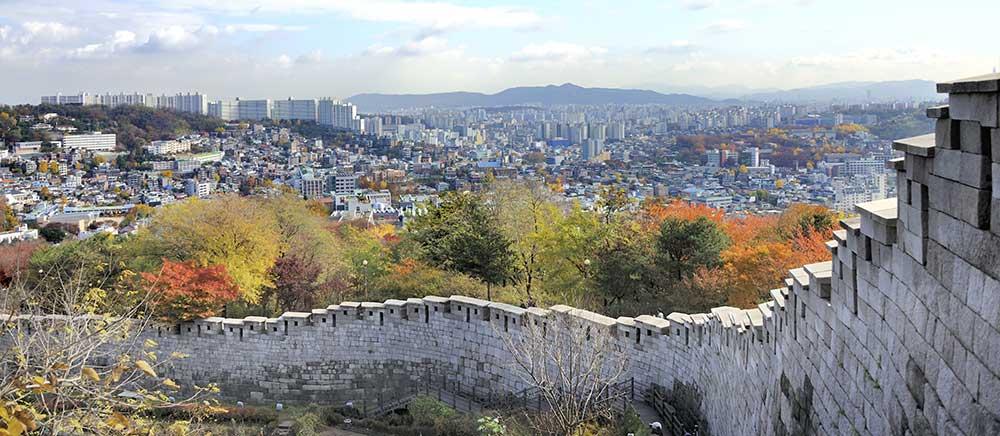 Seonggwak Fortress Bugaksan