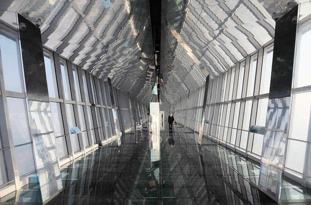 Observation Deck at Shanghai World Financial Center