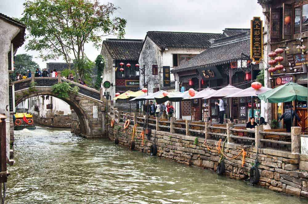 Shantang Street in Suzhou, China