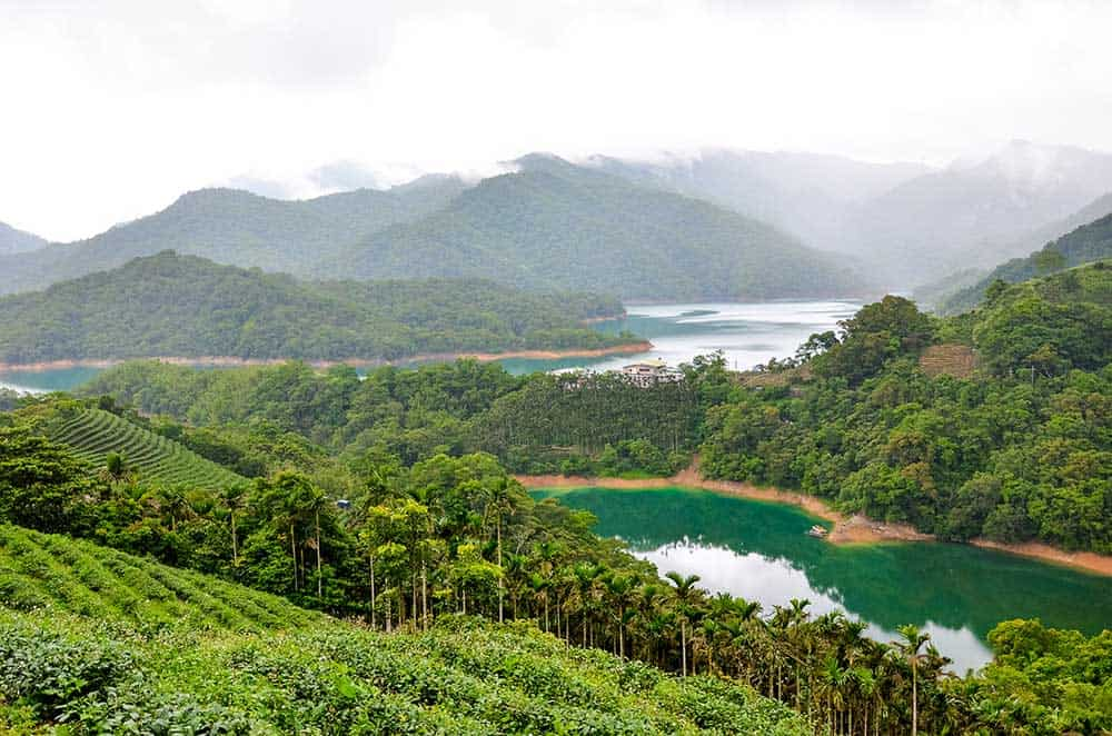 Shiding Thousand Island Lake, Taiwan