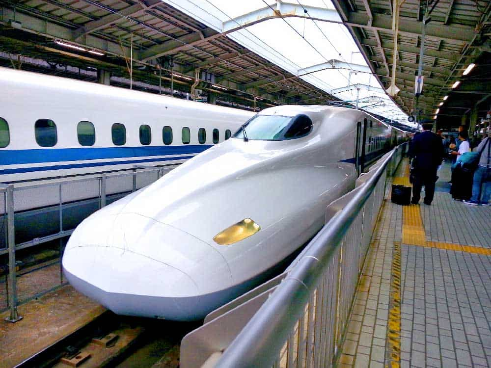 Shinkansen (Bullet Train) in Japan