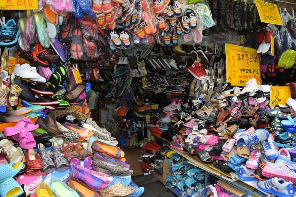 Shopping @ Namdaemun Market in Seoul, South Korea
