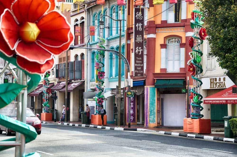 Shophouses Chinatown Singapore