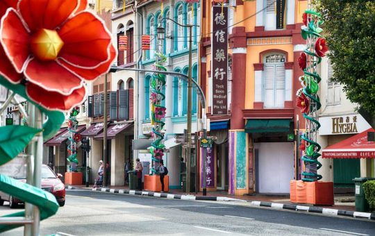Shophouses Chinatown Singapore