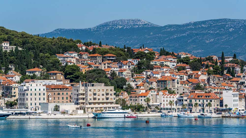 Shoreline of Split, Croatia