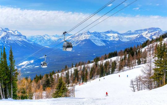 Skiing in Banff and Lake Louise