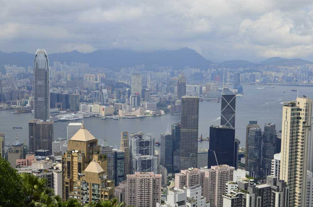 Skyline View Victoria Peak
