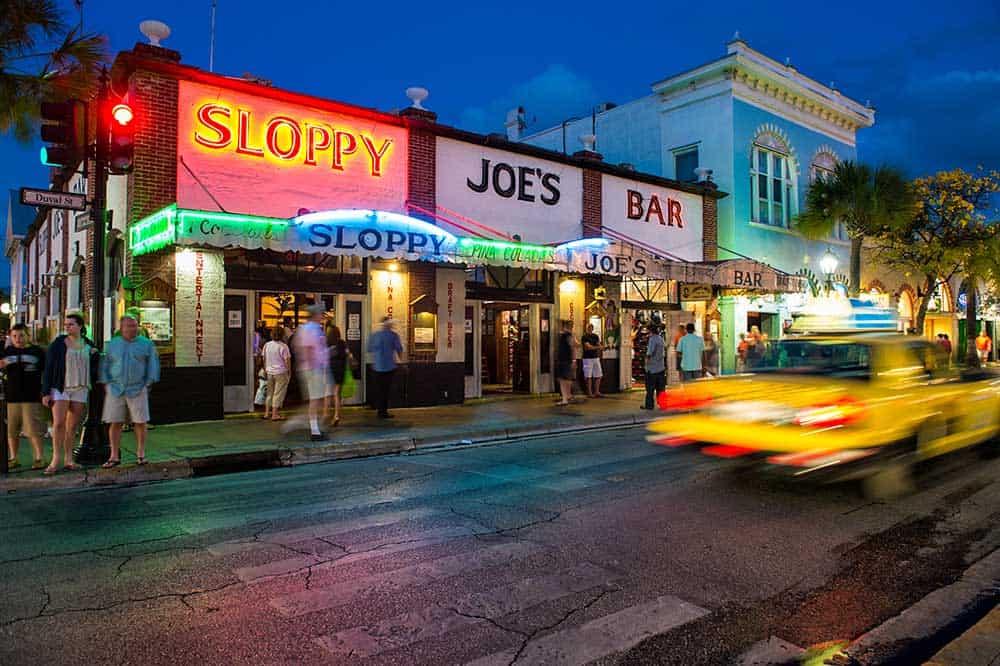 Sloppy Joe's Bar on Duval Street