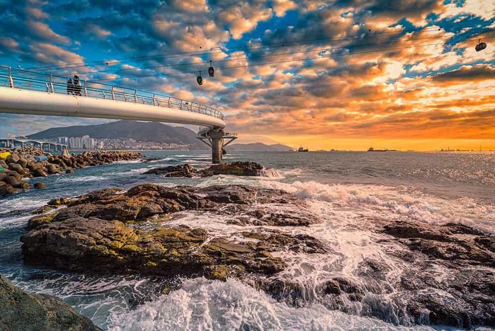 Songdo Beach Skywalk