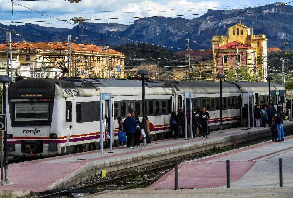 Renfe Train in Spain