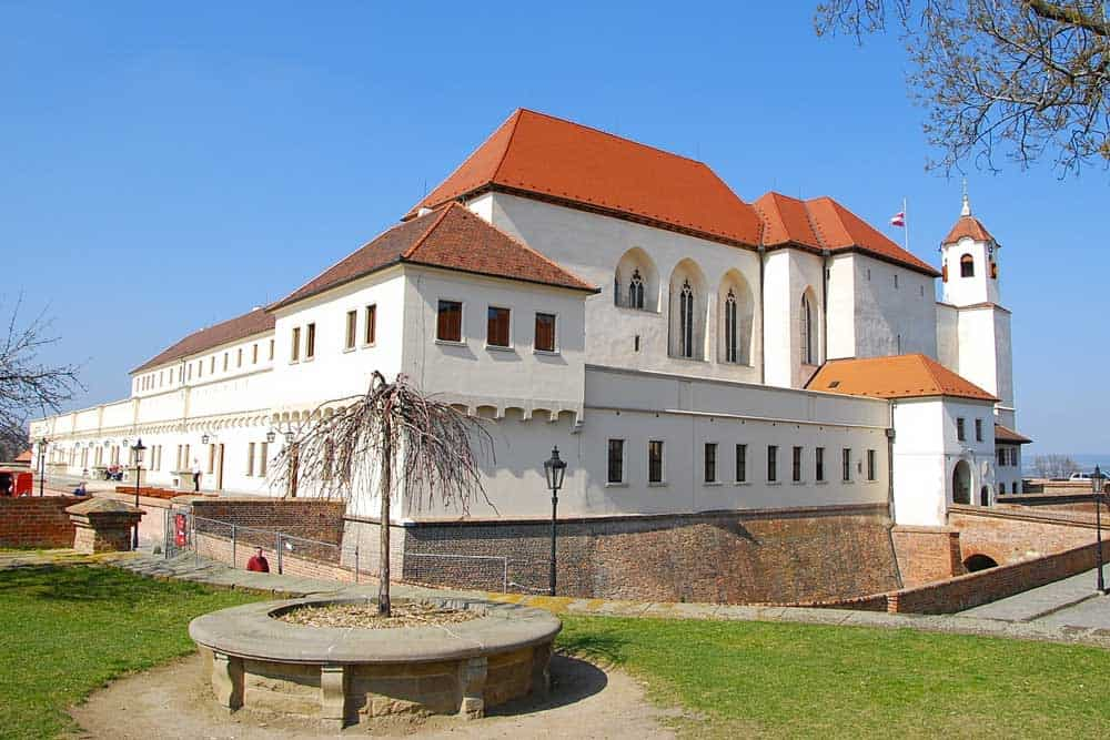 Spilberk Castle in Brno, Czech Republic