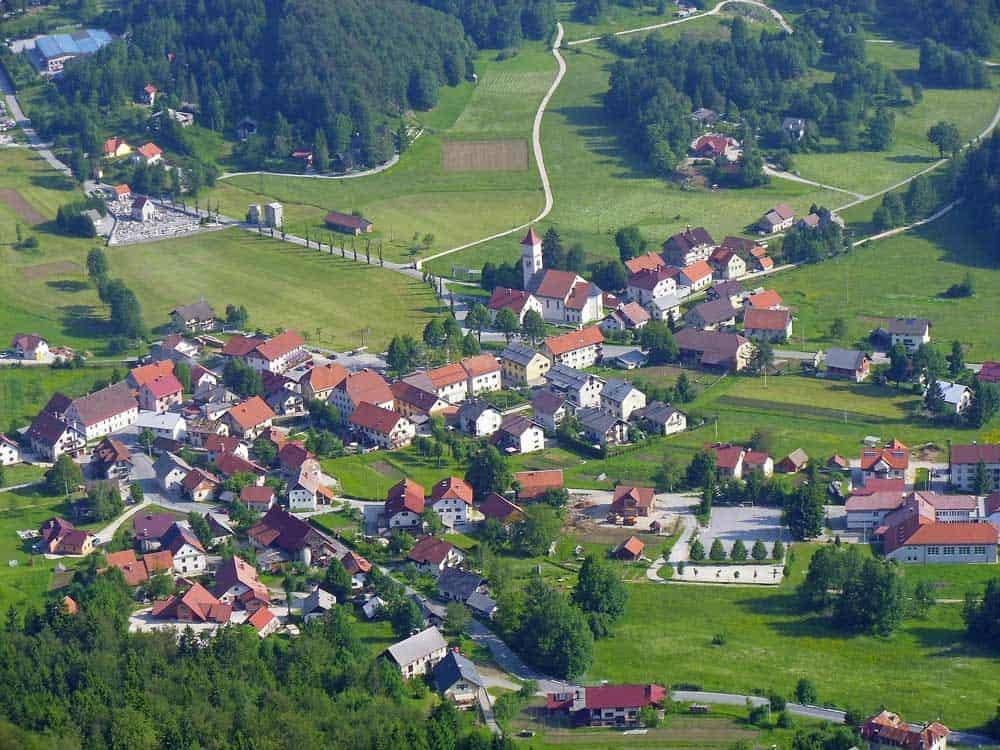 Spring Crni Vrh Slovenia