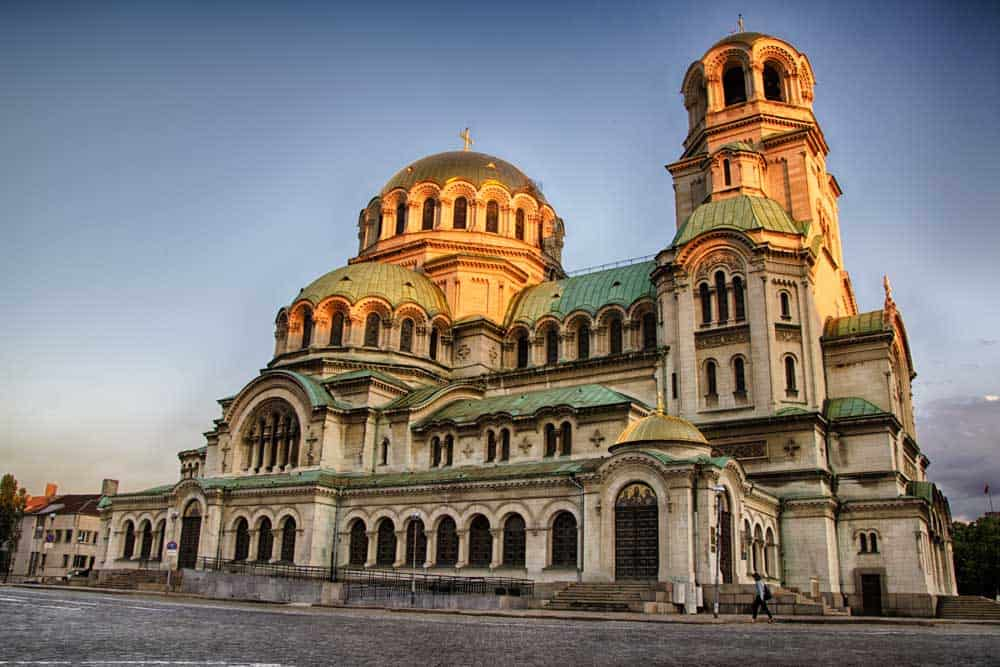 St Alexander Nevsky Cathedral in Sofia, Bulgaria