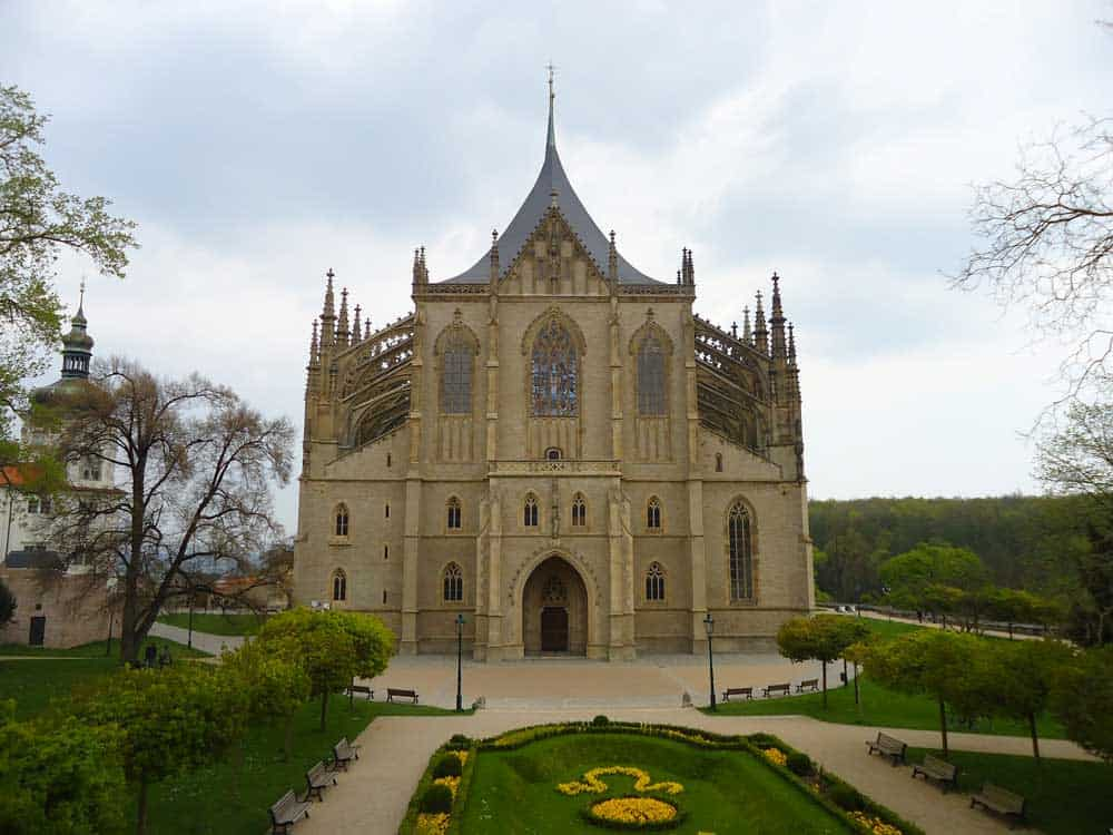 St Barbara's Church in Kutna Hora, Czech Republic
