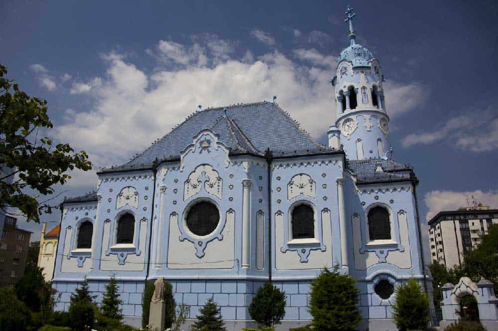St. Elizabeth's Church in Bratislava, Slovakia