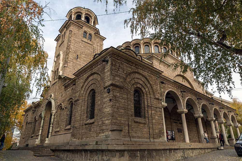 St. Nedeya Church in Sofia