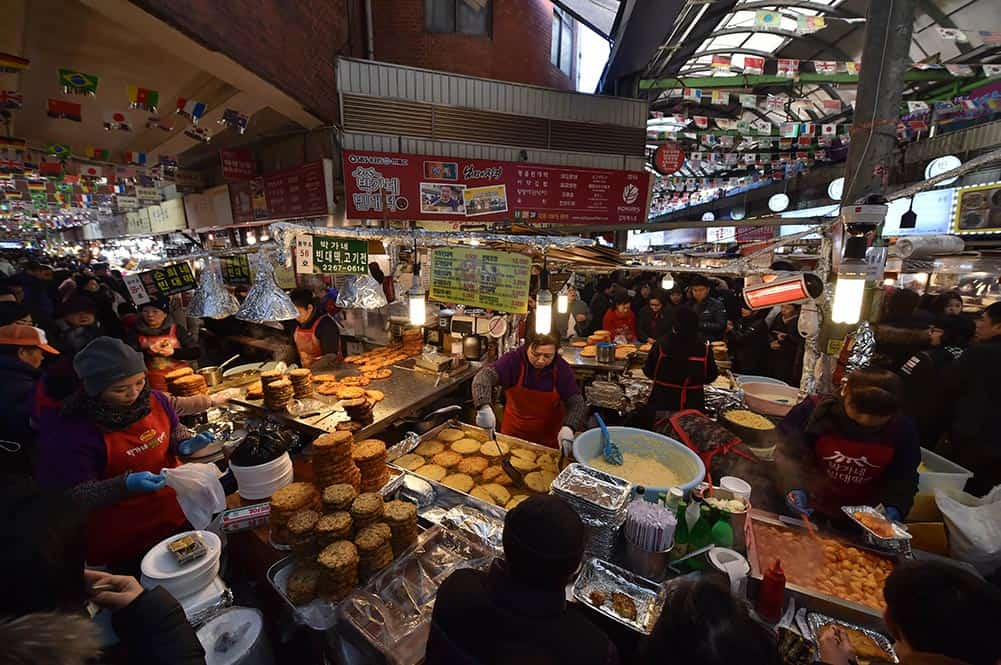 Stalls @ Gwangjang Market
