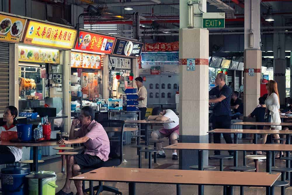 Hawker Stalls & Tables @ Old Airport Road Food Centre