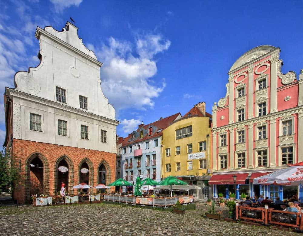 Stare Miasto in Szczecin, Poland