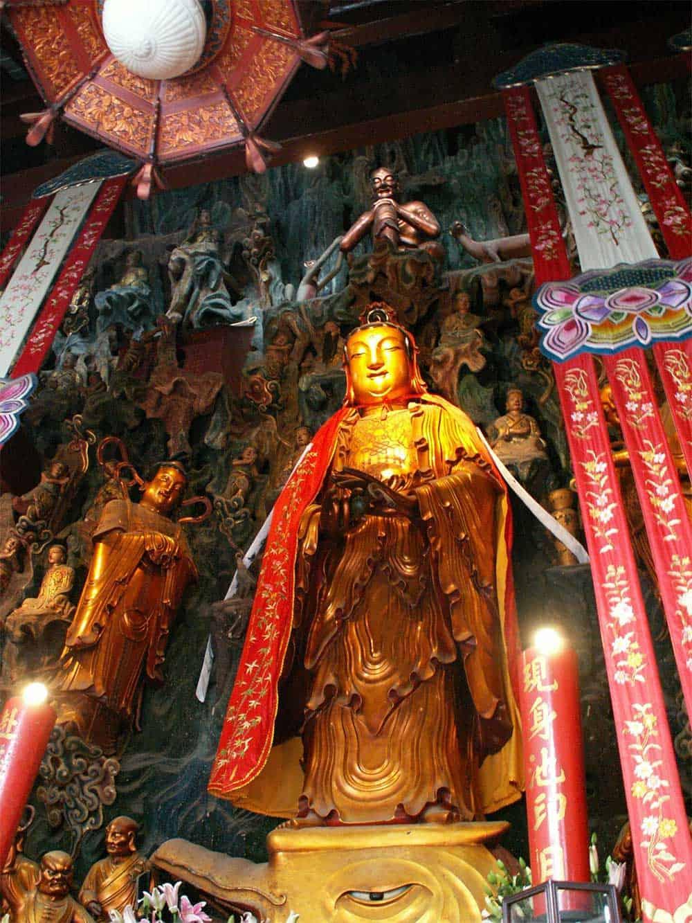 Statue at Jade Buddha Temple, Shanghai