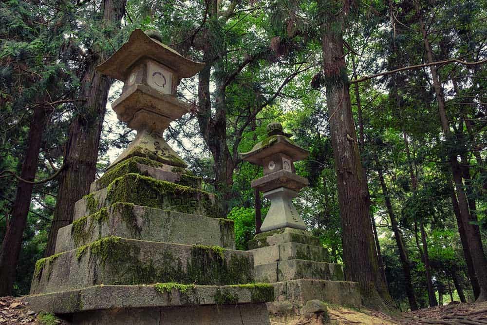 Stone Lanterns @ Nara Park