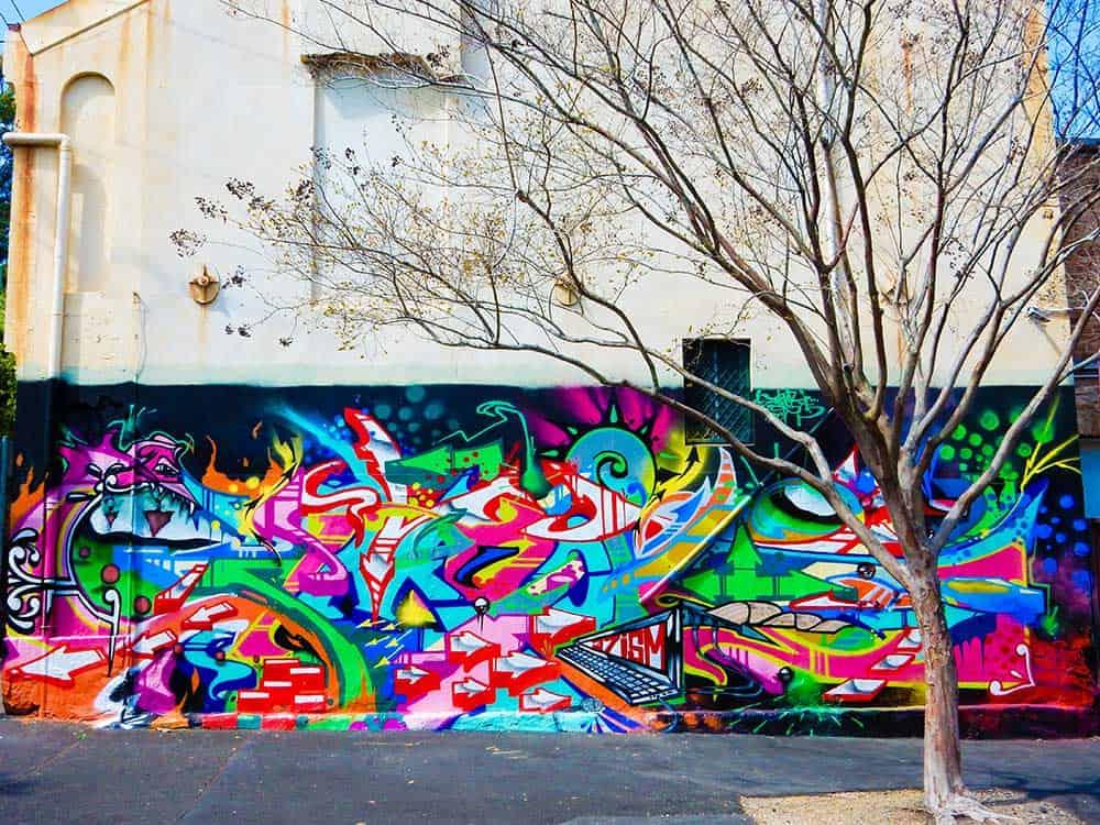 Street Art in Glebe, Sydney