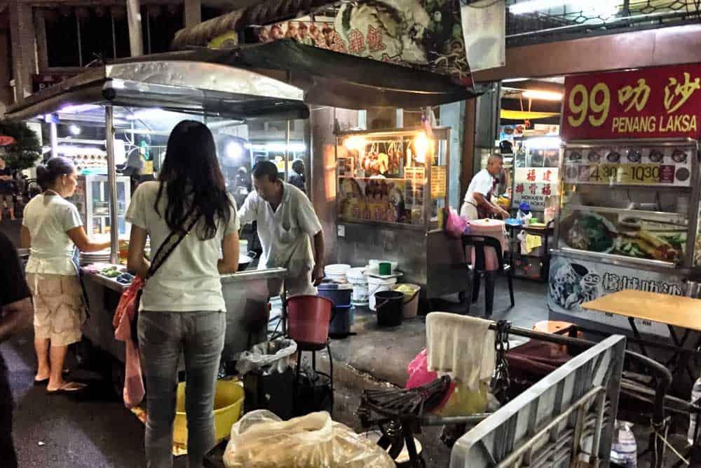 Street Food @ Lebuh Kimberley Penang