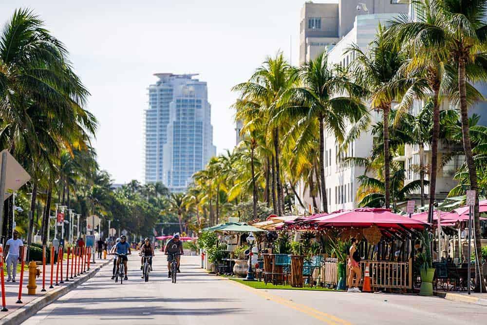 Street in Miami Beach