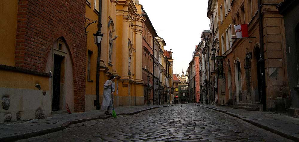 Street in Old Town Warsaw