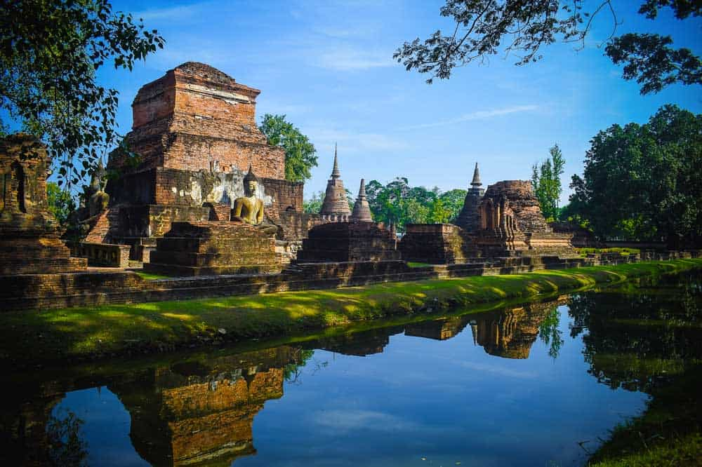 Sukhothai Historical Park in Sukhothai, Thailand