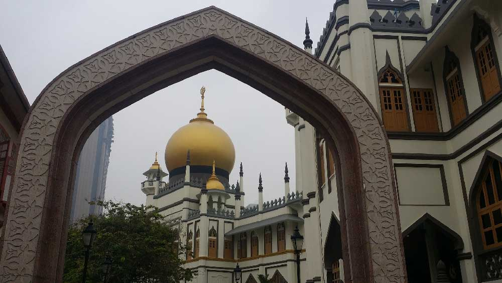 Sulta Mosque in Kampong Glam, Singapore