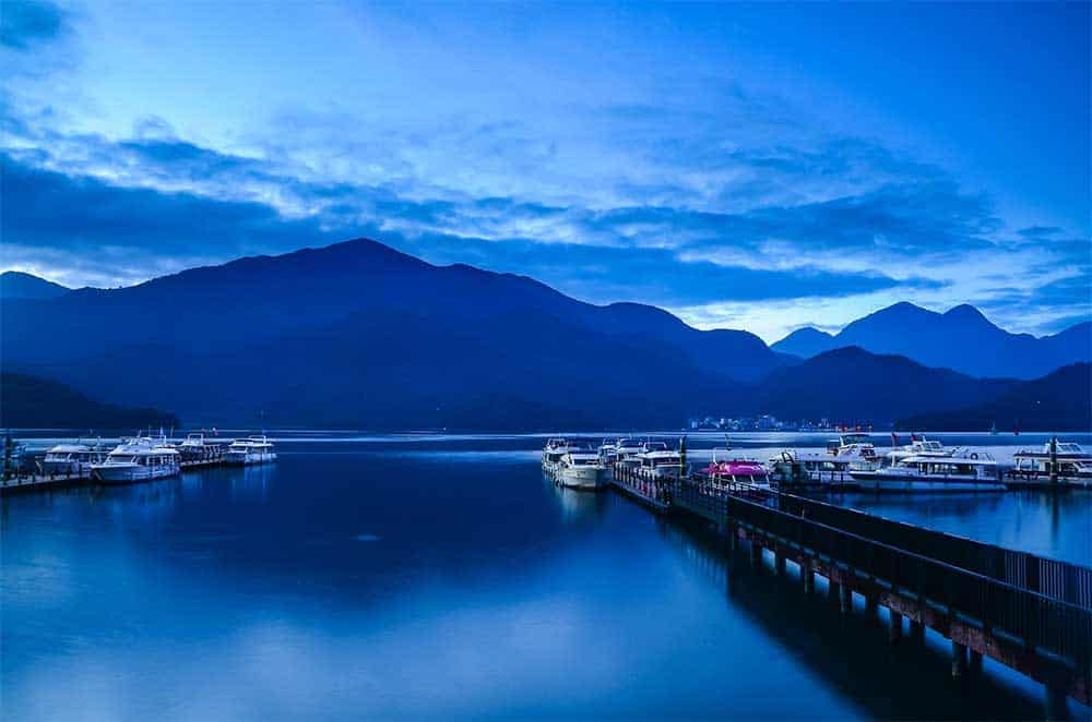 Sun Moon Lake in Nantou County, Taiwan