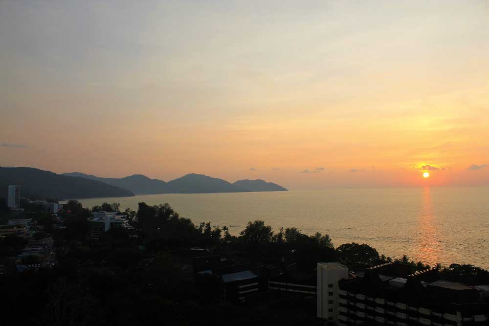 Sunset @ Batu Ferringhi, Penang