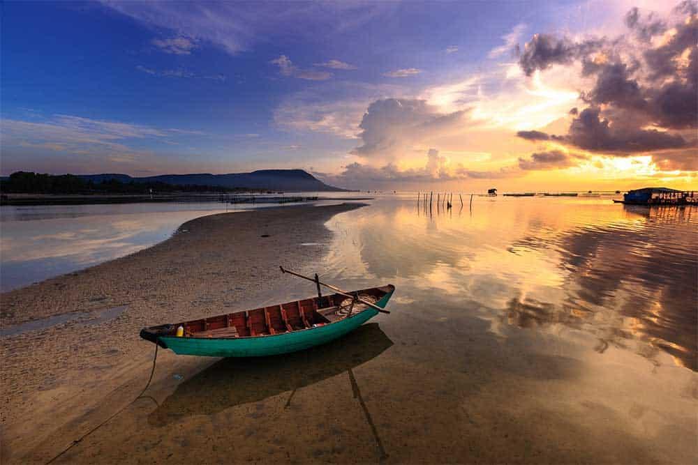 Sunset in Phu Quoc