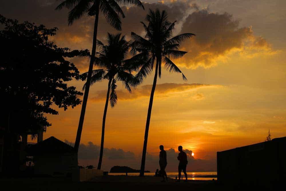 Sunset on Koh Lanta, Thailand
