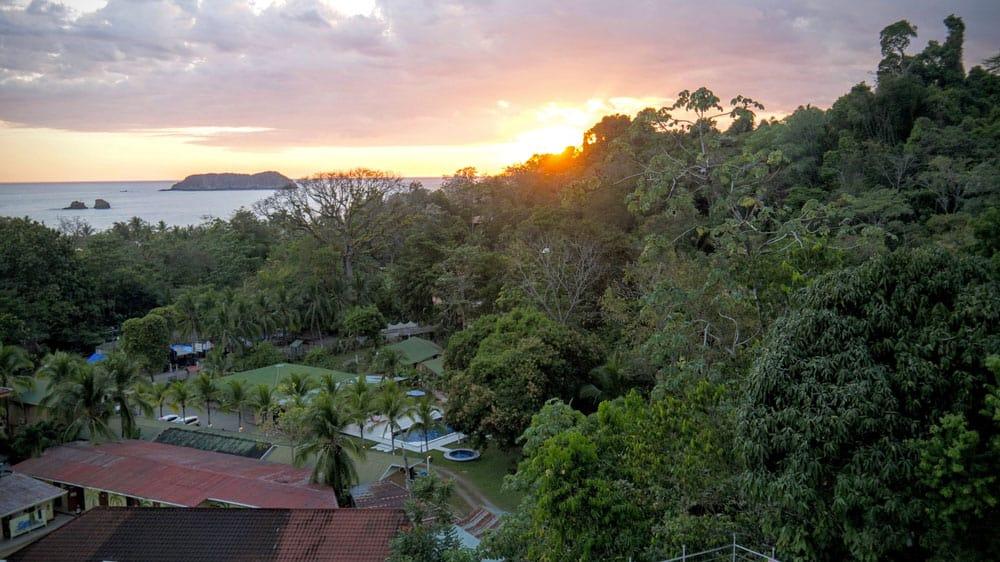 Sunset at Manuel Antonio National Park, Costa Rica