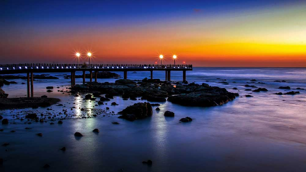 Sunset in Pohang, South Korea
