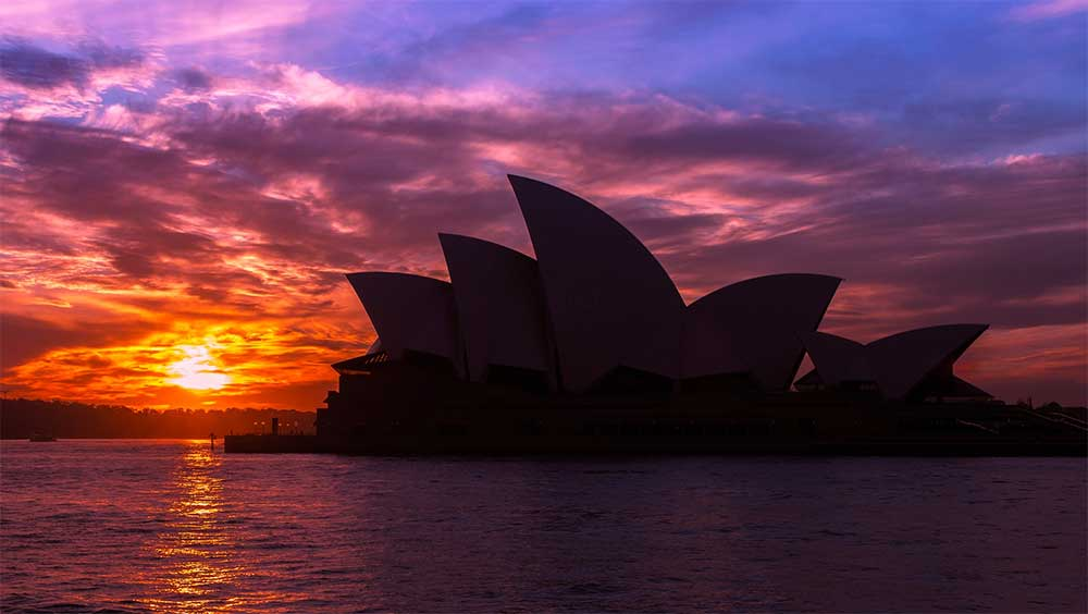 Sunset @ Sydney Opera House