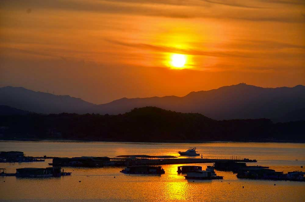 Sunset Yung Shue Sai Kung